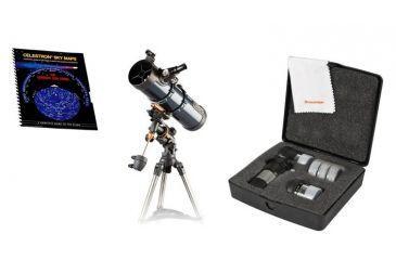 Celestron astromaster 130eq motor drive reflector telescope free s&h
