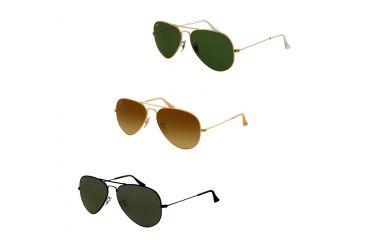 12a861dbedcd1 Ray-Ban Aviator Large Metal Sunglasses RB3025 FREE S H RB3025-9064V8 ...