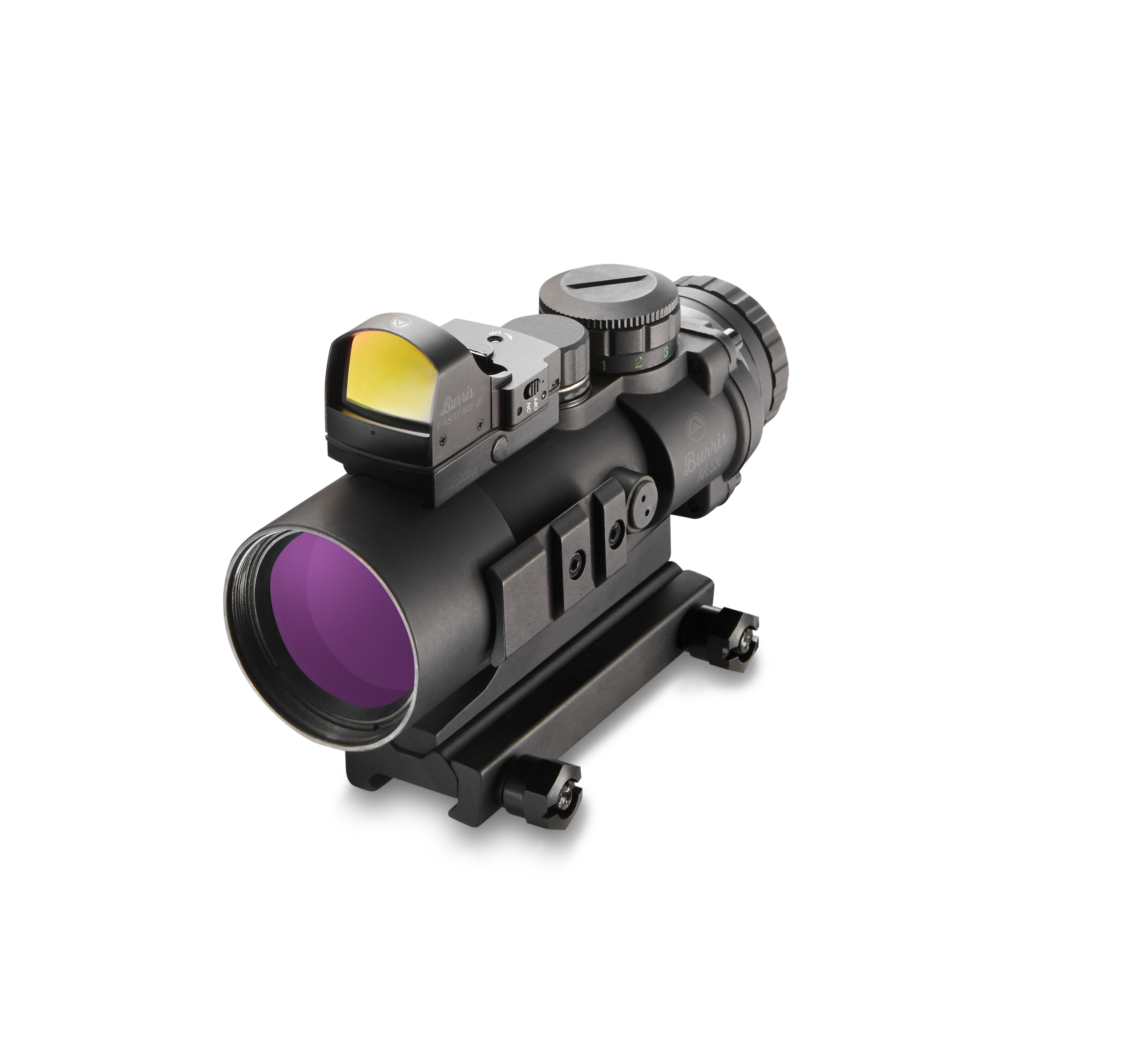 Burris Ar 536 5x 36mm Red Dot Sight Kit Ballistic Cq Reticle Free